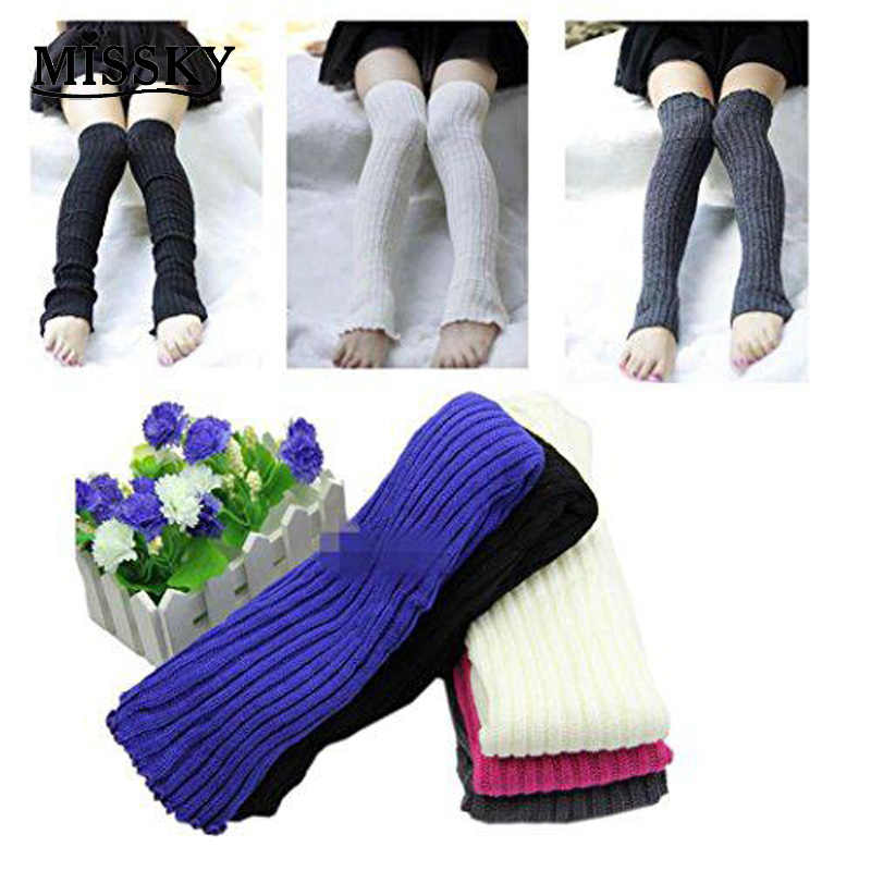 4960457a3f8 MISSKY Womens Girls Party Legwarmers Knitted Neon Dance 80s Costume 1980s  Leg Warmers Colour Rose