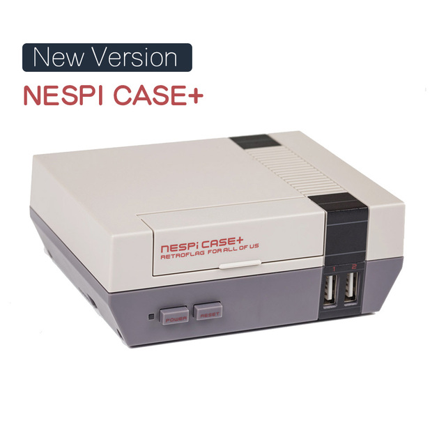 New Version NESPi Case Raspberry Pi 3 Model B Classical NES Style Case Game Console for Raspberry pi 3, 2B, B+