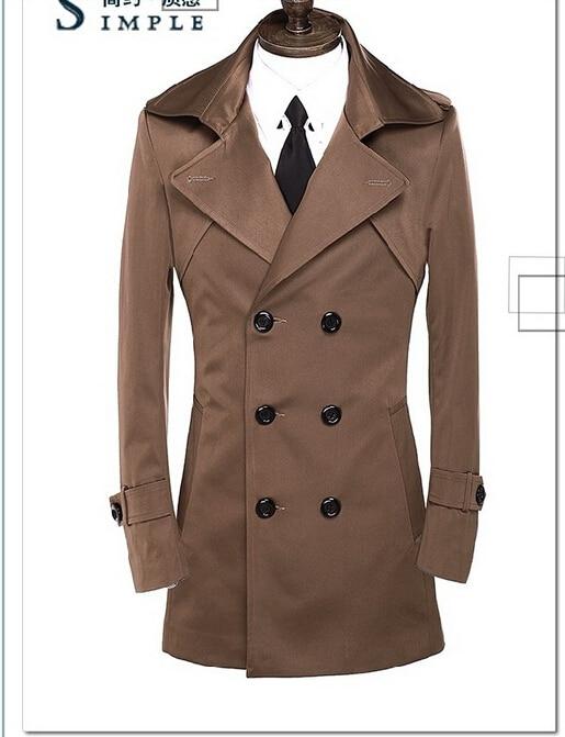 Male Cotton Overcoat Promotion-Shop for Promotional Male Cotton ...