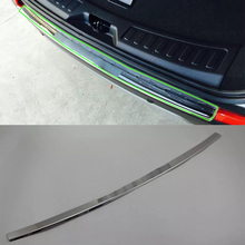 ABS car accessories Car body kits rear bumper foot plate For For 2017 Discovery Sport car body kits plastic rear bumper foot plate car sticker for toyota vios 2017