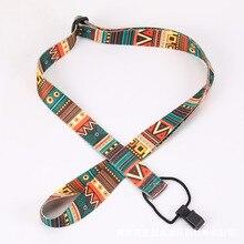 46.5-74cm Adjustable Nylon Colorful Vivid Printing Style Ukulele Strap belt Sling with hook Ukulele guitar Accessories