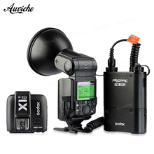 Godox WITSTRO AD360II-C Outdoor Portable Flash Speedlite 2.4G E-TTL HSS + PB960 Battery Pack for canon camera