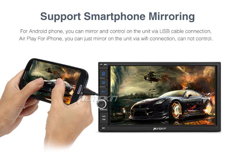 Kürbis 2 Din Android 7 1 Univeral Auto Dvd GPS Navigation