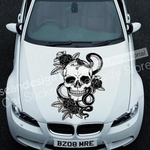 Cool! Totem crâne I TT016 autocollant Auto voiture autocollant PVC