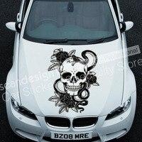 Totem Skull TT016 SUV Auto Car Decal Waterproof Sticker PVC