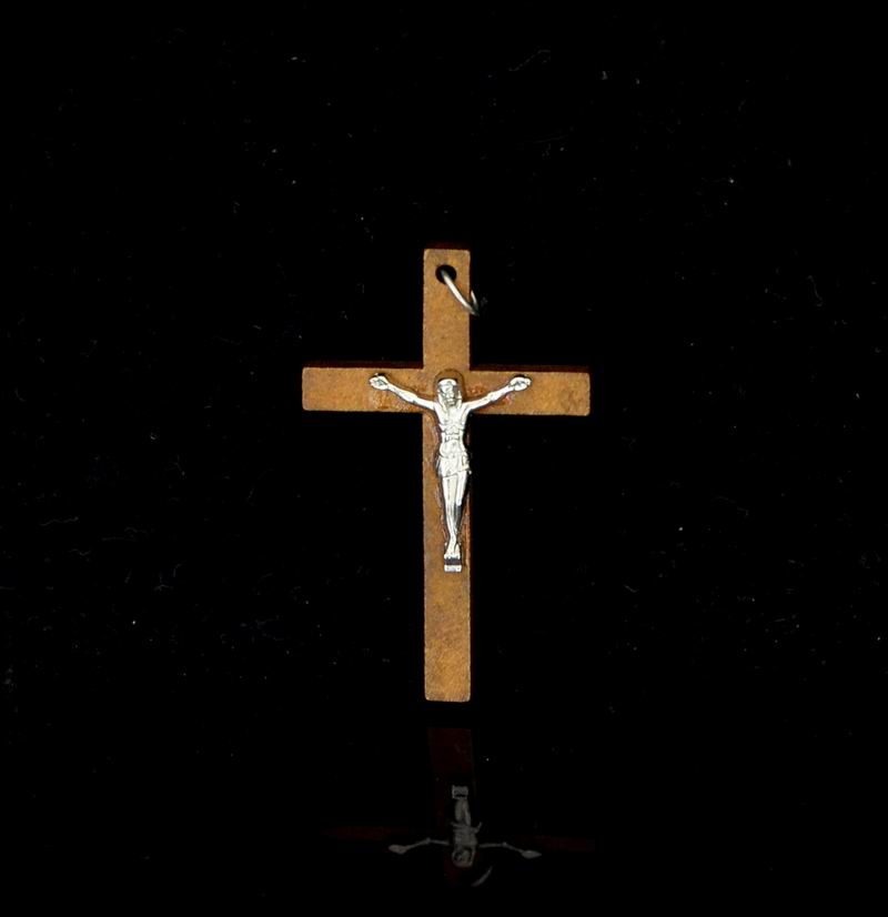 Image 4 - 100pcs 50*32MM Catholic Wooden Cross Jesus Charms For Jewelry Making DIY Accessories Jesus Christian Wood Cross Charms Pendants-in Charms from Jewelry & Accessories