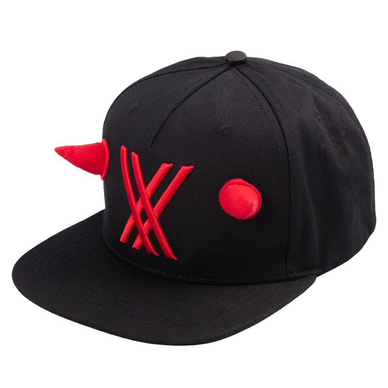 Darling in the Franxx 02 Cosplay Hat Zero Two Theme Cap Anime Cosplay