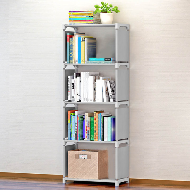 Five Layers Room Organizer Bathroom Storage Bookshelf Holders Racks ...