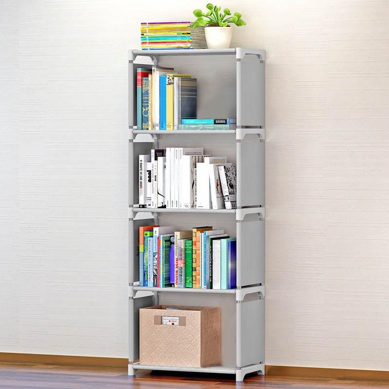 Five Layers Room Organizer Bathroom Storage Bookshelf Holders Racks Storage Racks Office Organizer Bookshelves for Office