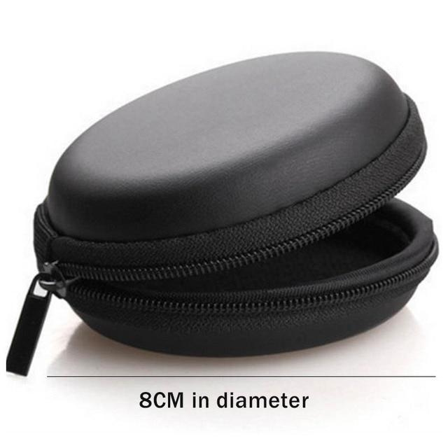 Portable device Travel bags Zippered Portable Earphone Bag