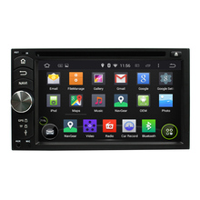 6.2 Inch Quad Core HD1024*600 Android 5.1 Car DVD Player For Universal Car Multimedia Player Free 8GB MAP Card