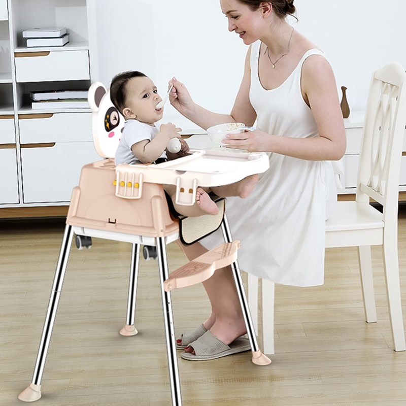 High Quality Enfant Kids Chair Children's Dining Chair Multifunctional Adjustable Height Children Chairs Safety Child Desk Chair