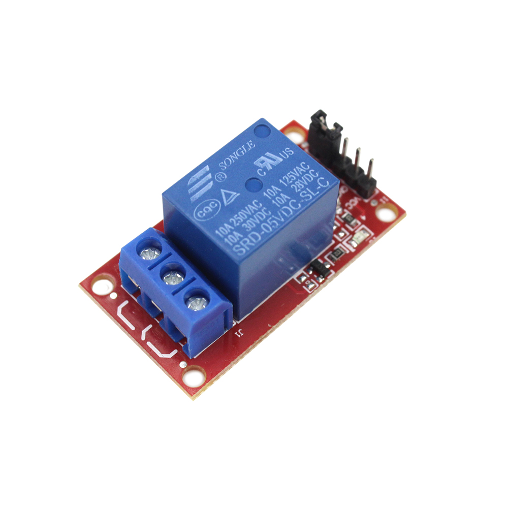 Smart Electronics 5V One 1 Channel Relay Module Board Shield with Optocoupler Support High and Low Level Trigger Hong 5v 2 channel ir relay shield expansion board module for arduino with infrared remote controller