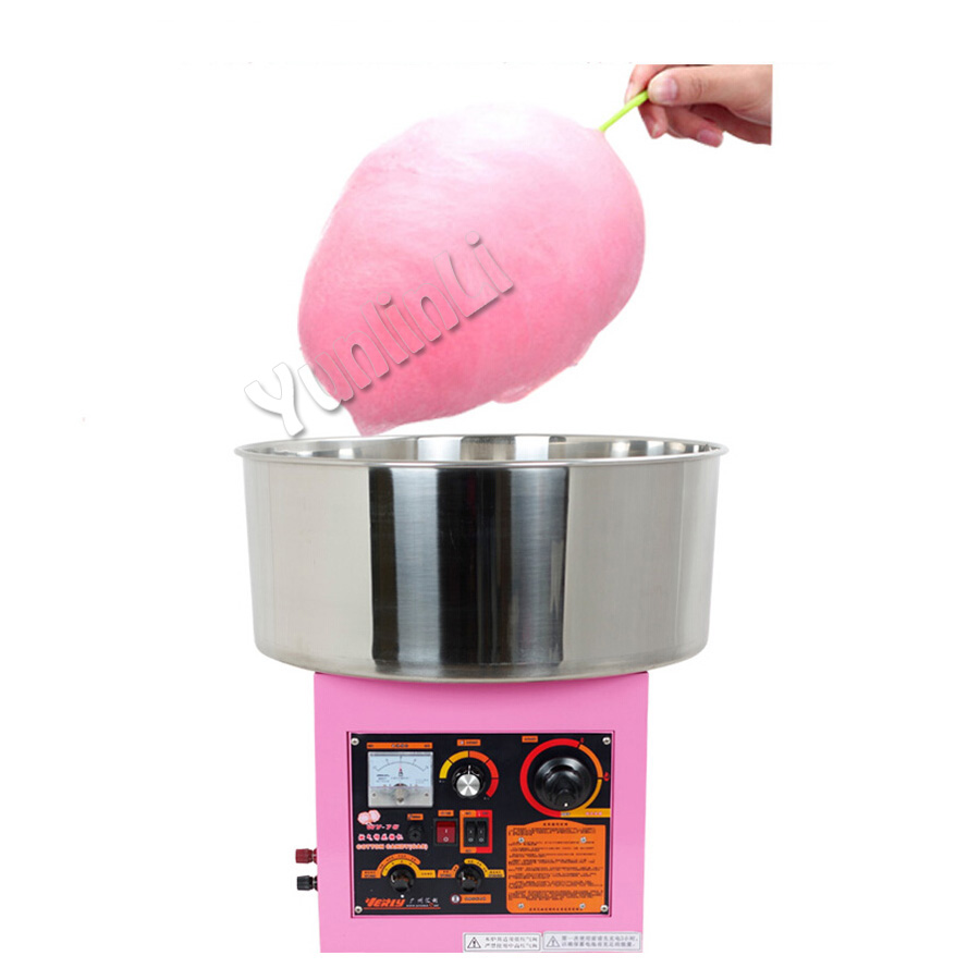 Electric /Gas Fancy colored cotton candy machine Commercial Cotton Candy Machine Candy Floss for Children WY-78 professional cotton candy floss machine cotton candy vending machine with low price