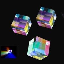 12,7*12,7*12,7 мм Призма лазерный луч комбинированный куб синий лазерный диод Призма оптический Эксперимент Инструмент оптические линзы зеркальная Призма