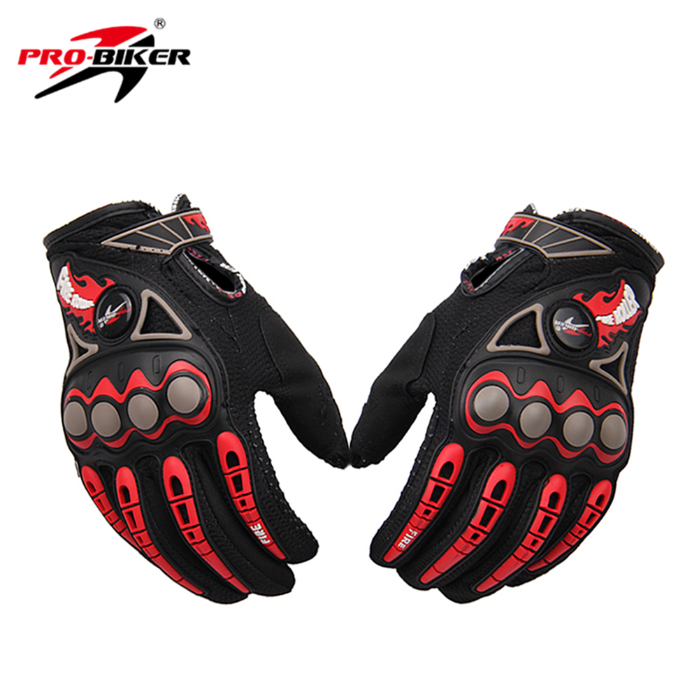 PRO-BIKER Moto Racing Gants Respirant Enduro Dirt Bike Moto Guantes Luvas Off Road Motocross Moto Gants D'équitation