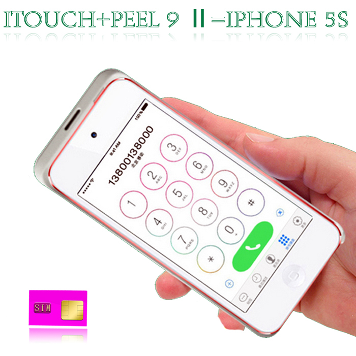 For Ipod touch 6/5 Bluetooth Sim Card Adapter peel 9 No