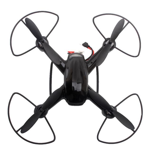 Alta Calidad DM003 Drone 2.4G 4CH 6-Axis Mini RC Quadcopter Gyro Helicóptero con Cámara de 2MP Headless Modo RC Helicóptero Quadcope