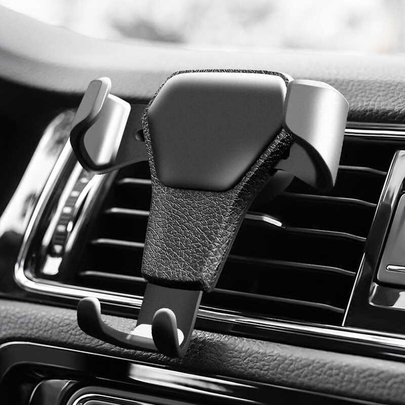 Car Phone Holder Air Vent Mount In Car Phone Stand Holder Universal Car Gravity Bracket for iphone 7 8 X Sumsang S8 S9 Huawei