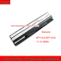 100% Compatible Genuine 11.1V 49Wh BTY S14 Battery For MSI GE70 GP60 2PF GE60 0NC GE60 OND CR650 FR700 BTY S14