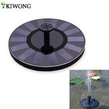 환경 친화적 인 태양 광 발전 스프링 쿨러 워터 펌프 정원 연못 물고기 탱크 물 순환을위한 태양 장식 분수