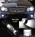 2x Error Free  P13W  LED Daytime Lights Bulb For 2010-11 Mercedes W212 E Class Sedan or Coupe (non-HID headlight version) models