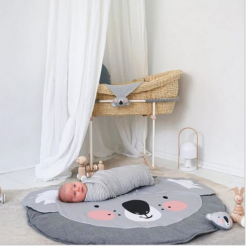 2017 Lovely Sheep Kid Play mats Carpet Soft Baby Crawling Mat Rug / baby blanket muslin  ...