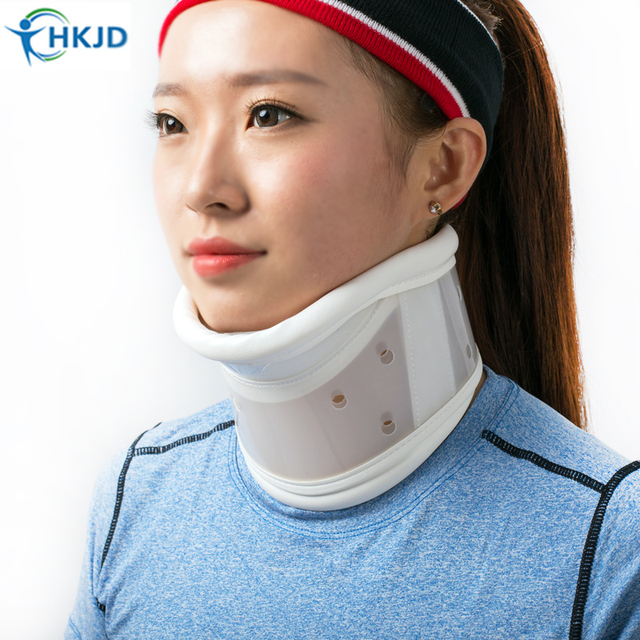 Hkjd Medical Cervical Neck Collar With Chin Support For Stiff Pain Relief Braces Bone Care