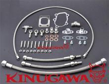 Kinugawa Turbo Oil & Water Linha de Kit para Nissan Skyline R30 DR30 FJ20ET/Garrett para GT2860RS