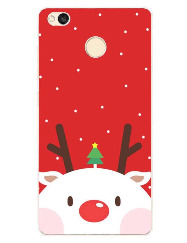 קריקטורה חמוד עבור שיאו mi mi A1 5X אדום mi הערה 5 פרו 4A 4X מקרה חג המולד סיליקון TPU רך כיסוי עבור Xio mi אדום mi 5A הערה 4 Funda
