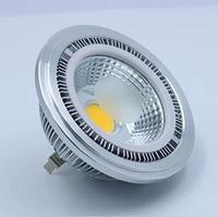 Led ar111 cob dim 9 W tavan spot led lamba led cob gu10 gu53 led spot 4 adet/grup ücretsiz kargo
