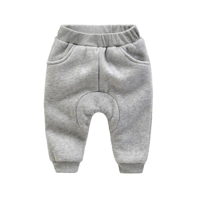Детские брюки зимние новорожденный утолщение Харен брюки