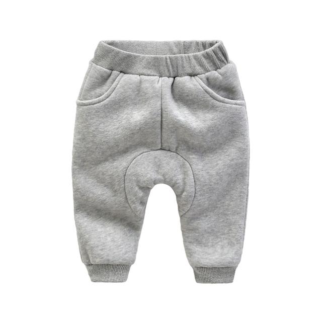 Pantalones de bebé de invierno recién nacido engrosamiento pantalones Haren