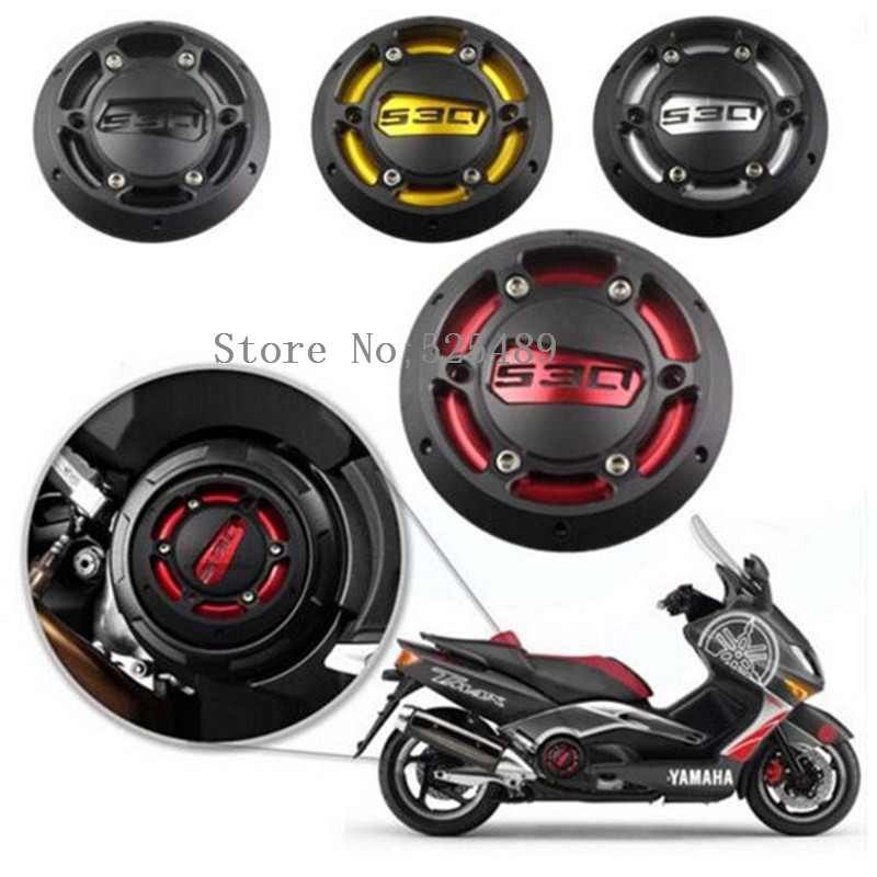 New Brand 5 Color Motorcycle T-Max Engine Stator Cover CNC Engine Protective Cover Protector Accessories For Yamaha TMAX 530 500 for yamaha tmax 500 530 mt09 m20 2 5 magnetic engine oil filler moto bike engine oil cap cover for honda ducati multistrada 1200