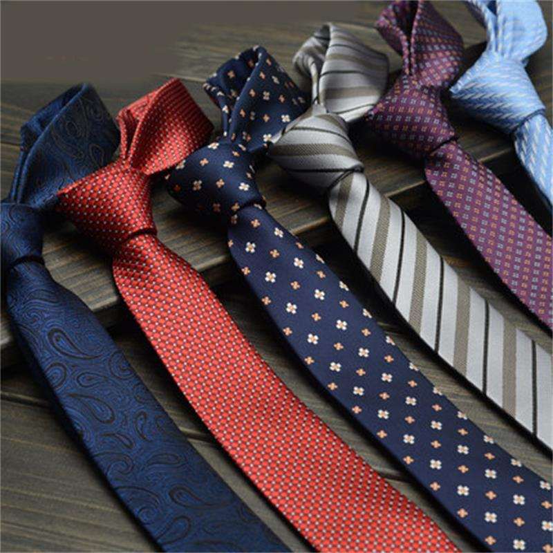 Mens business casual Korean version of the British men and narrow tie small gift boxes