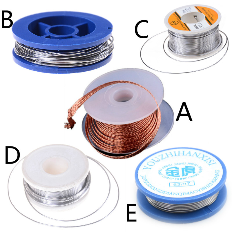 1.5mx2mm Solder Wire Desoldering Braid Solder Remover Copper Wick