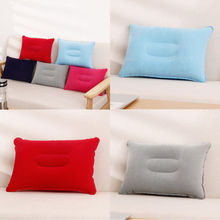 Outdoor Travel Air Pillow Beach Inflatable Body Cushion Car Head Rest Hiking Pillows