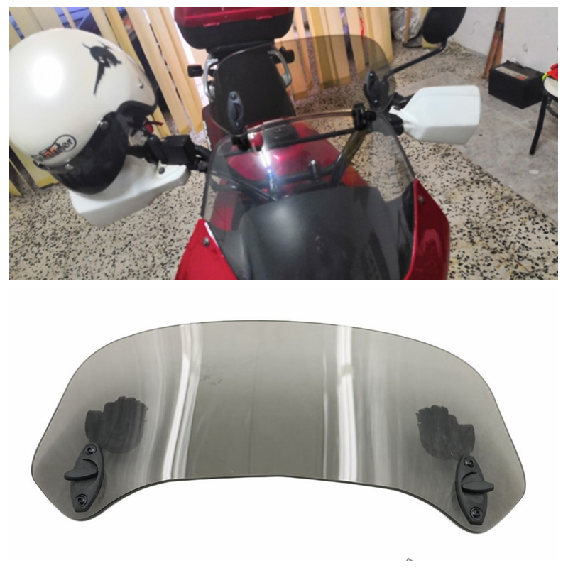 Windshield adjustable air spoiler For Honda CB190R 1000R CBF190R GOLD WING1800 F6B CB500F CB1100 Deluxe R