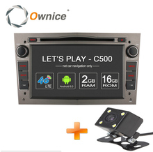 Ownice C500 Android 6.0 4 Core 2G RAM Car DVD GPS 2 DIN For Vauxhall Opel Astra H G J Vectra Antara Zafira Corsa Support 4G LTE