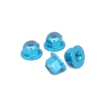 alloy wheel lock nut for rc hobby model car 1/10 Axial SCX10 crawler image