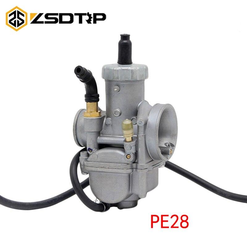 28 мм карбюратор PE28 racing power performance KEIHIN Карбюратор ручной дроссель для тюнинга используется на 100 125 150cc скутер мотоцикл