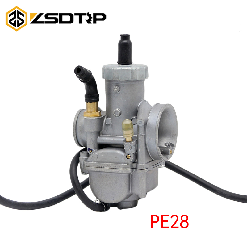US $20 89 30% OFF 28mm carburetor PE28 racing power performance KEIHIN  carburetor hand choke for Tuned used at 100 125 150cc scooter motorcycle-in