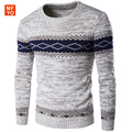 2016 New Fashion Autumn England style warm Ethnic patterns Pullovers Knitwear Sweaters men casual slim fit Sweaters