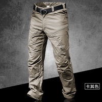 Tactical Men's Anti wear Waterproof Long Trousers Male Trekking Outdoor Climbing Hiking Camping Combat Military Overalls Pants