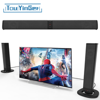 Touyinger Detachable Wireless Bluetooth TV Soundbar Home Theater Music Player Speaker Support TF Card Television Subwoofer