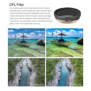 Image 5 - ND Cpl シリーズ CPL + ND8 + ND16 ミックスレンズフィルターセットアクションカメラレンズフィルター DJI OSMO アクションジンバルカメラアクセサリー
