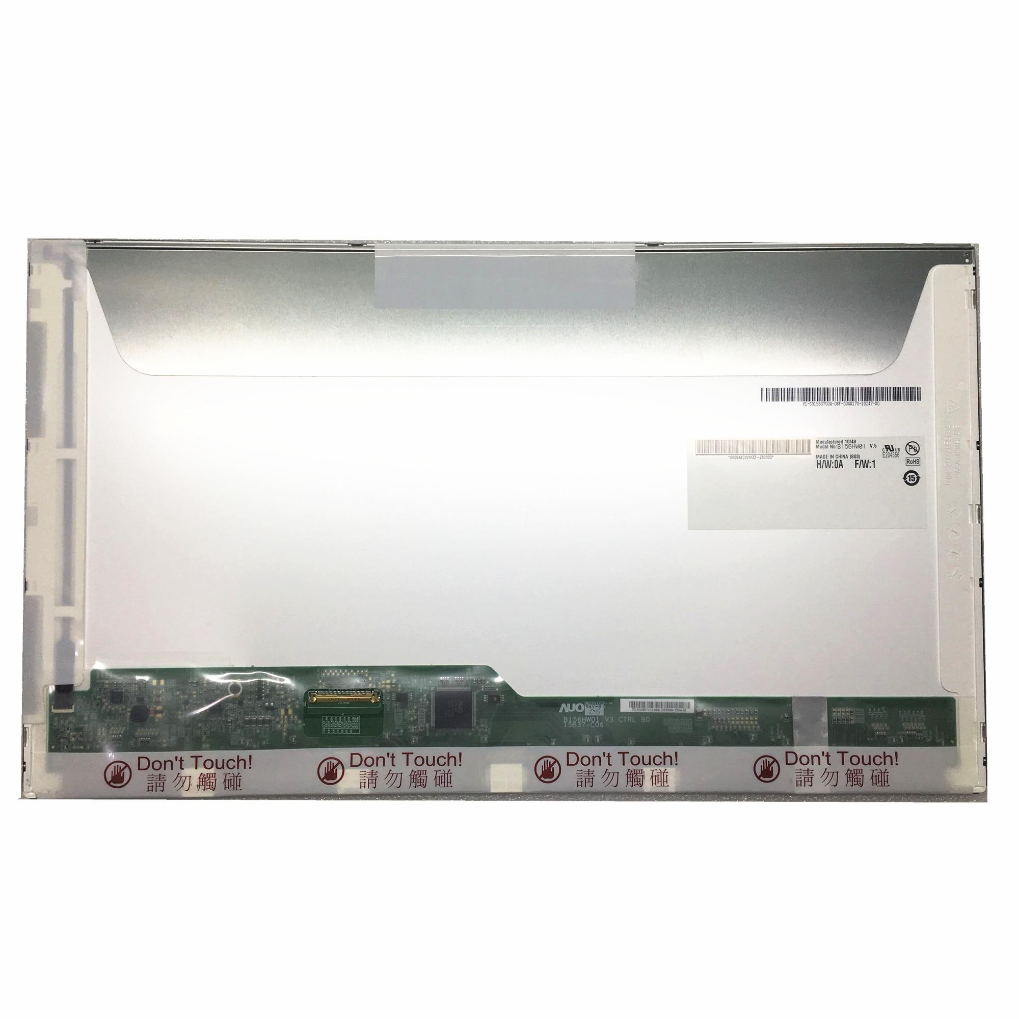 Livraison Gratuite B156HW01 V.5 V.4 B156HW01 V5 B156HW02 LP156WF1 TLB2 LTN156HT01 LTN156HT02 écran lcd d'ordinateur portable 1920*1080 40PINS