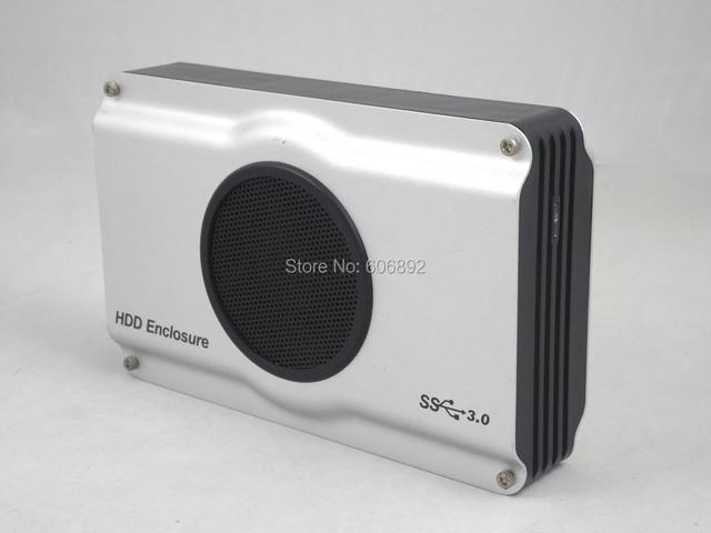 Envío libre 3.5 pulgadas USB 3.0 2.0 a IDE SATA Hdd caja de la caja del ventilador fresco Buenos precios internos