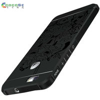 COCOSE For Huawei Nova Case Silicon Matte Cover Luxury 3d Carved Soft Tpu Anti Knock Mobile