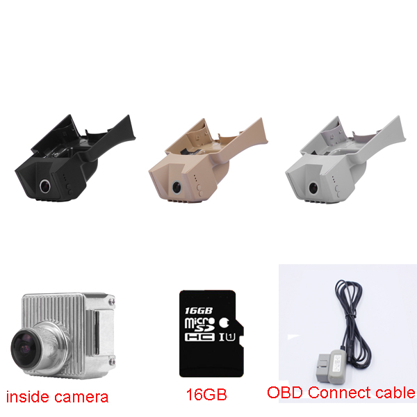 New OBD Car black box Video Recorder fit for Mercedes Benz S 221(Low Spec year2007-2012) with OBD Connect cable